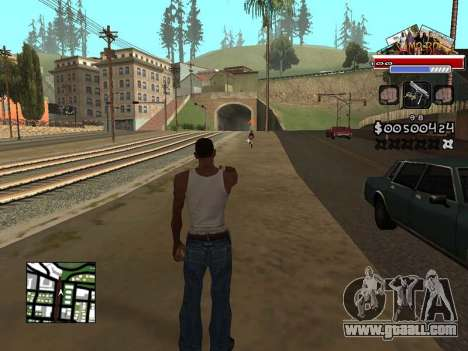 CLEO HUD for SA:MP - RP for GTA San Andreas
