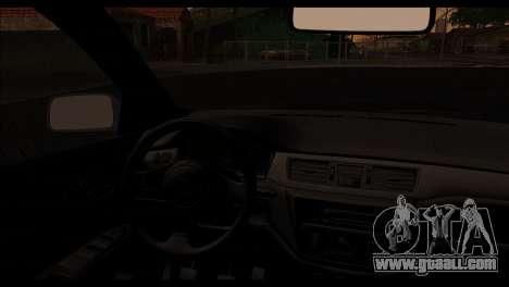 Mitsubishi Lancer Evolution for GTA San Andreas right view