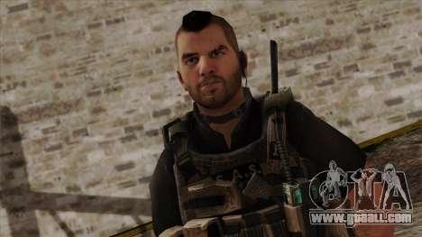 Modern Warfare 2 Skin 17 for GTA San Andreas third screenshot