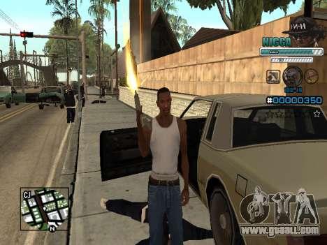 C-HUD Man in a Cap for GTA San Andreas forth screenshot