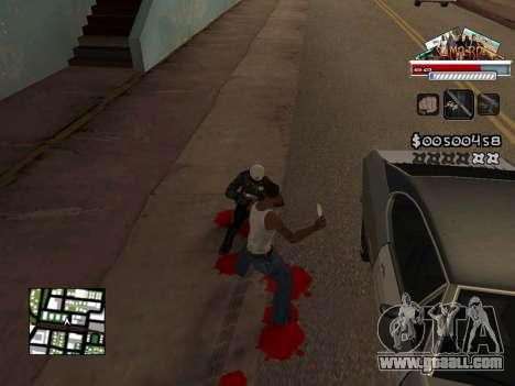 CLEO HUD for SA:MP - RP for GTA San Andreas forth screenshot