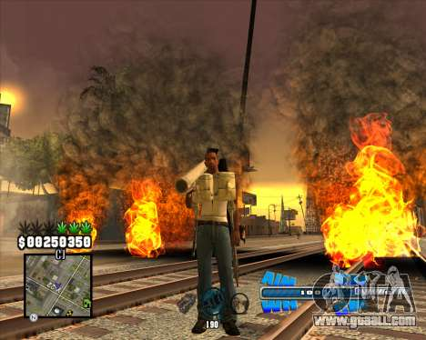 C-HUD Big Cull for GTA San Andreas second screenshot