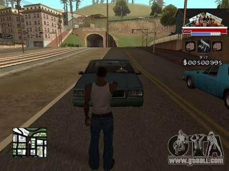 CLEO HUD for SA:MP - RP for GTA San Andreas second screenshot
