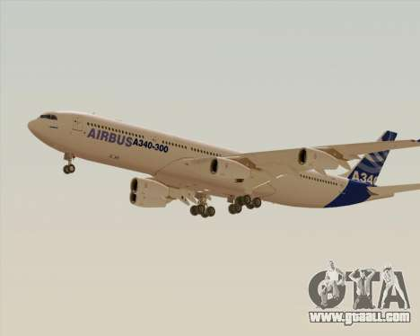 Airbus A340-300 Airbus S A S House Livery for GTA San Andreas right view