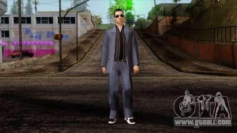 LCN Skin 4 for GTA San Andreas