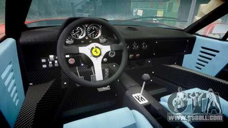 Ferrari F40 1987 [EPM] Tricolore for GTA 4 inner view