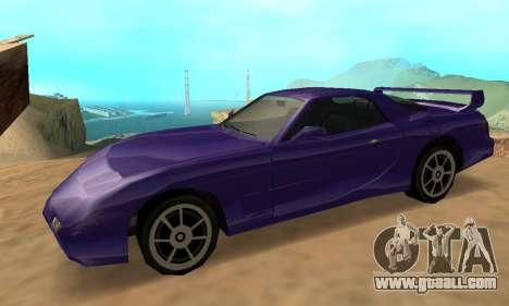 Beta ZR-350 for GTA San Andreas