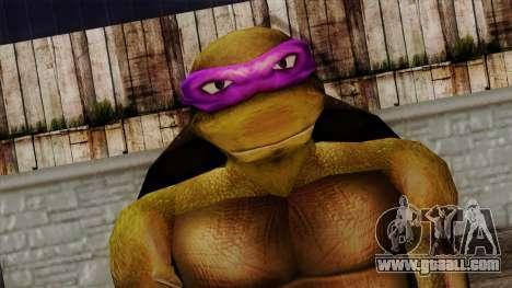 Don (Ninja Turtles) for GTA San Andreas third screenshot