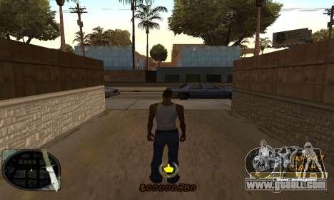 C-HUD Army Gang for GTA San Andreas second screenshot