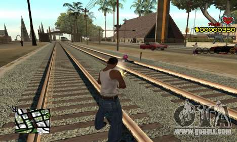C-HUD By Fernando for GTA San Andreas