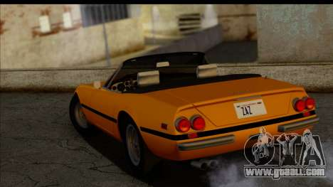 Ferrari 365 GTS4 Daytona (US-spec) 1971 for GTA San Andreas right view