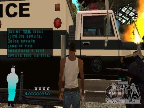 FBI HUD for GTA San Andreas sixth screenshot