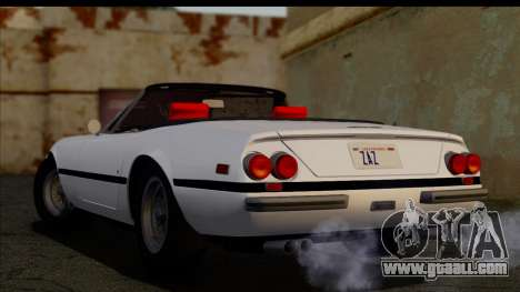 Ferrari 365 GTS4 Daytona (US-spec) 1971 [HQLM] for GTA San Andreas left view