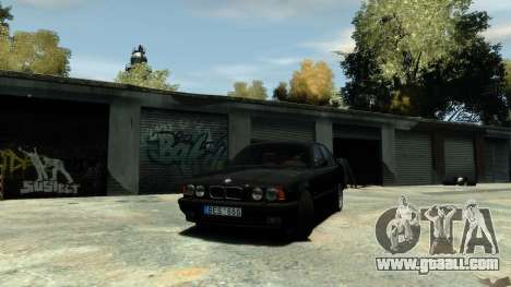 BMW M5 E34 1995 for GTA 4 right view