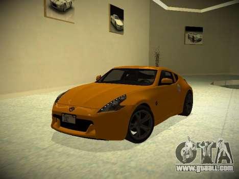 Nissan 370 Z Z34 2010 Tunable for GTA San Andreas