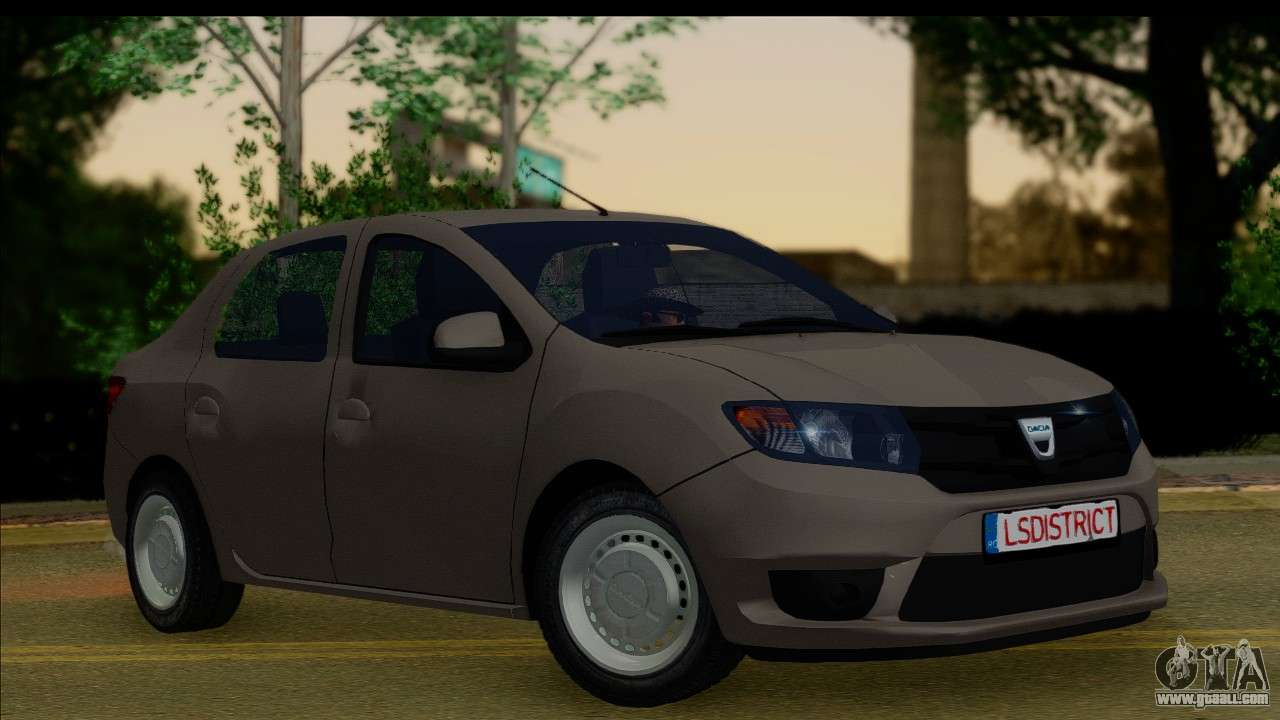 dacia logan 2013 for gta san andreas. Black Bedroom Furniture Sets. Home Design Ideas