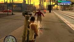 С-HUD Metro for GTA San Andreas