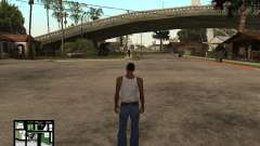 C-Hud Minecraft for GTA San Andreas
