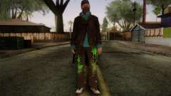 Aiden Pearce from Watch Dogs v3 for GTA San Andreas