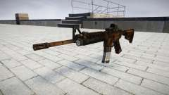 Tactical M4 assault rifle target for GTA 4