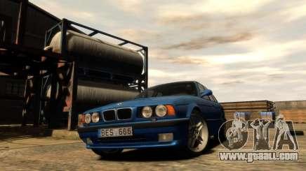 BMW M5 E34 1995 for GTA 4