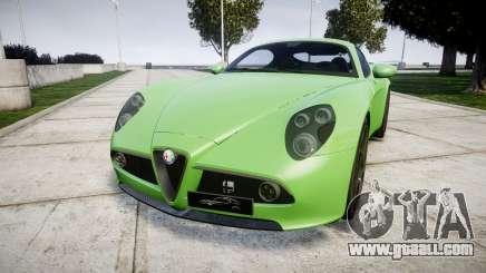 Alfa Romeo 8C Competizione 2008 for GTA 4