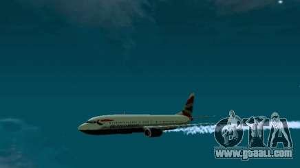 Boeing 737-800 British Airways for GTA San Andreas
