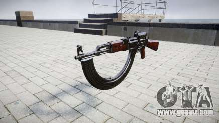 The AK-47 Collimator and target HICAP for GTA 4