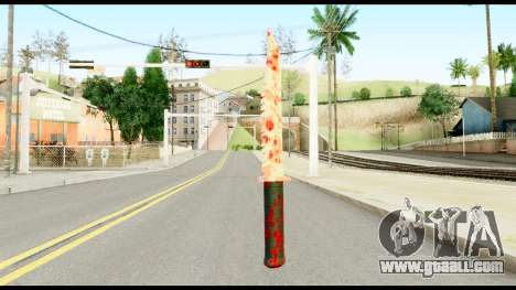 Knife with Blood for GTA San Andreas second screenshot