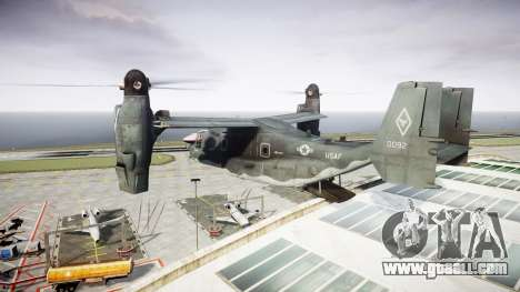 Bell CV-22 Osprey [EPM] for GTA 4 inner view