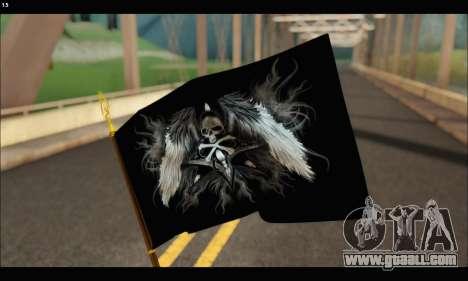 Flag Black Skul for GTA San Andreas