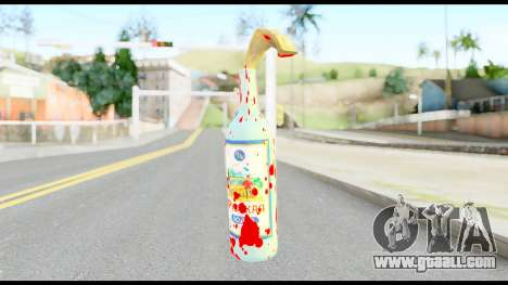 Molotov Cocktail with Blood for GTA San Andreas