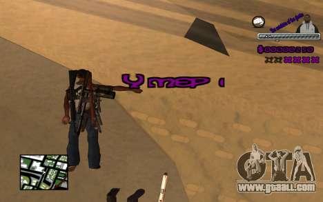 С-HUD Ghetto for GTA San Andreas forth screenshot