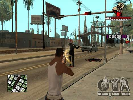 C-HUD SWAG for GTA San Andreas forth screenshot