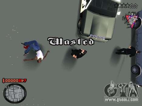 C-HUD Style for GTA San Andreas fifth screenshot