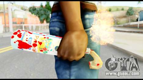 Molotov Cocktail with Blood for GTA San Andreas third screenshot