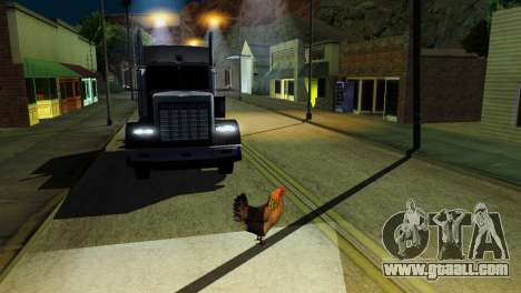 The possibility of GTA V to play for animals for GTA San Andreas twelth screenshot