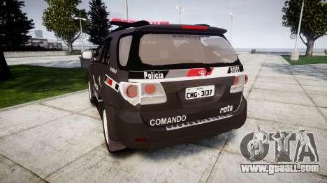 Toyota Hilux SW4 2015 ROTA [ELS] for GTA 4 back left view