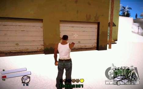 C-HUD v4.0 for GTA San Andreas