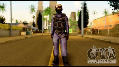 Counter Strike Skin 5 for GTA San Andreas