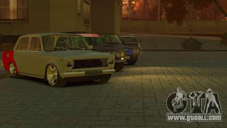 VAZ 2101 for GTA 4 back view