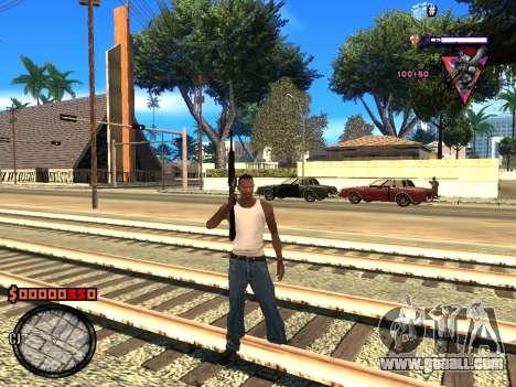 C-HUD Style for GTA San Andreas