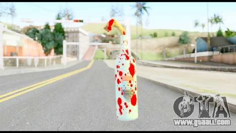 Molotov Cocktail with Blood for GTA San Andreas second screenshot