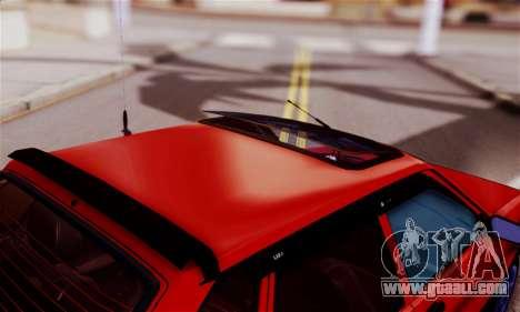 Lada 2109 for GTA San Andreas inner view