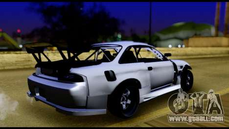 Nissan Silvia S14 DC Hunter for GTA San Andreas left view