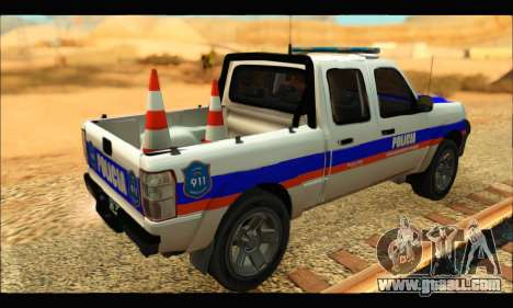Ford Ranger 2011 Policia Bonaerense for GTA San Andreas left view