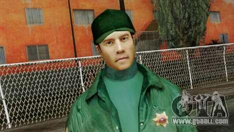 Police Skin 1 for GTA San Andreas third screenshot