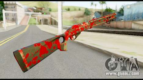 Combat Shotgun with Blood for GTA San Andreas second screenshot