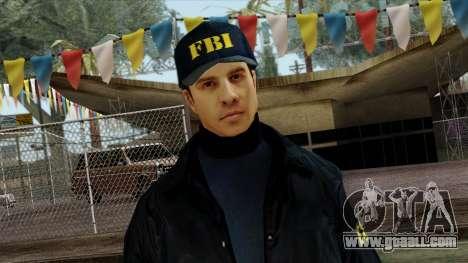 Police Skin 3 for GTA San Andreas third screenshot