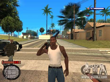 C-HUD Style for GTA San Andreas second screenshot